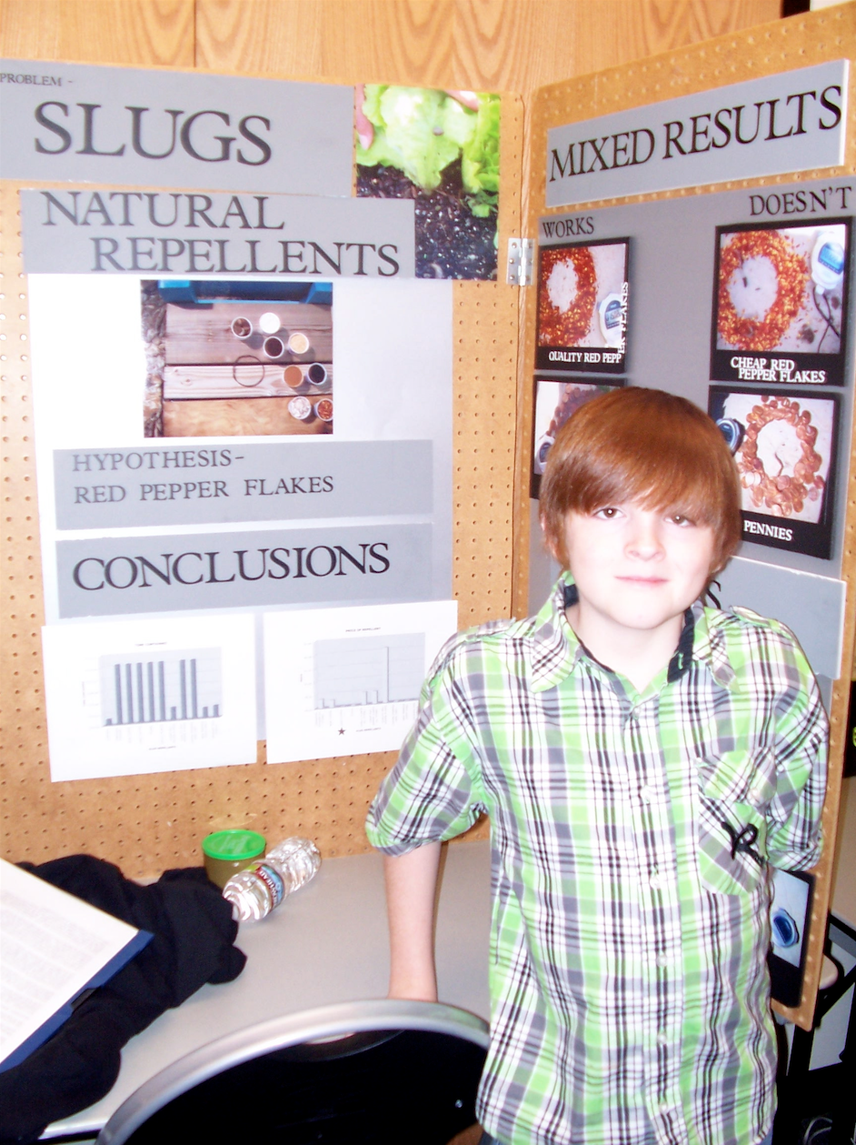 Kilor Vogler and his Science Fair Project (2012)