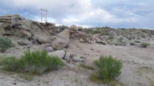 Rock Formations near Fantasy Canyon