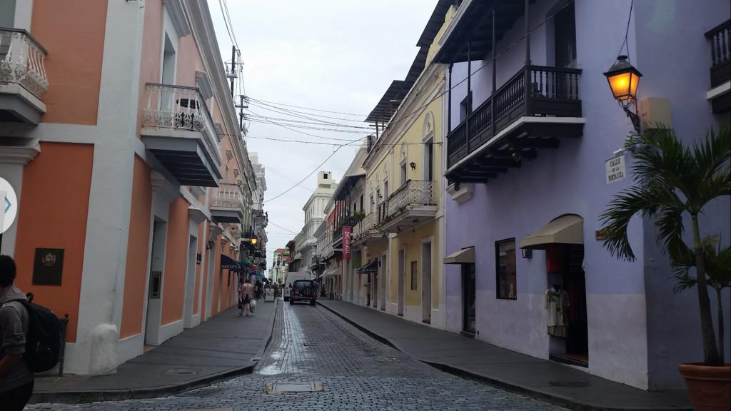 Streetview Old San Juan, Puerto Rico