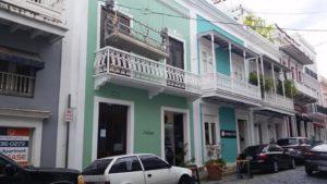 Colorful Buildings Old San Juan, Puerto Rico
