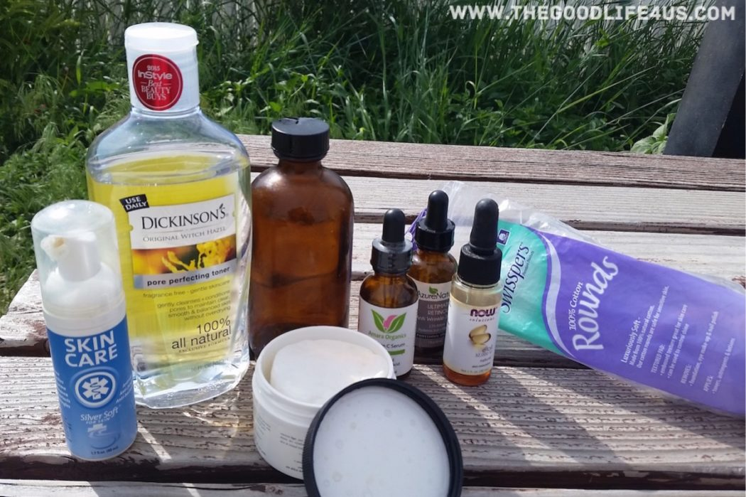 DIY Night-Time Facial Cleaning Pads