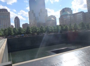 We Will Always Remember 9/11 - WTC Memorial Pool