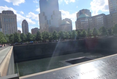 We Will Always Remember 9/11 - WTC Memorial Pool