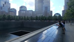 Marcy at World Trade Center Memorial 2016