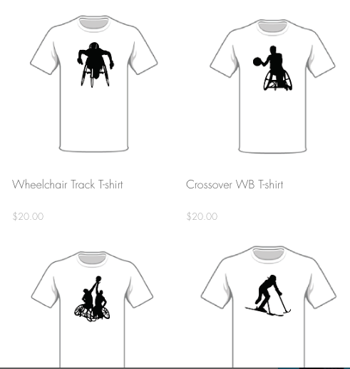 Disabled Athlete T-Shirts