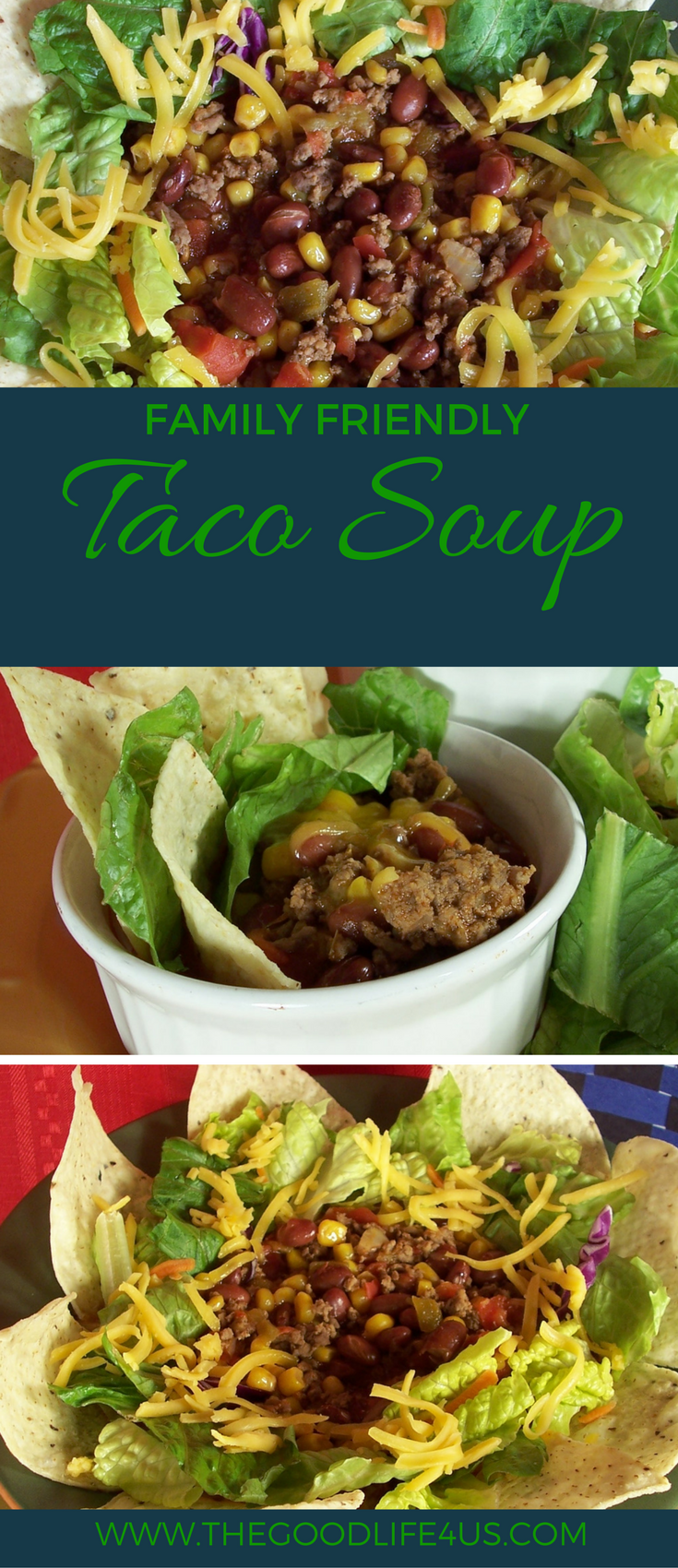 Family Friendly Taco Soup