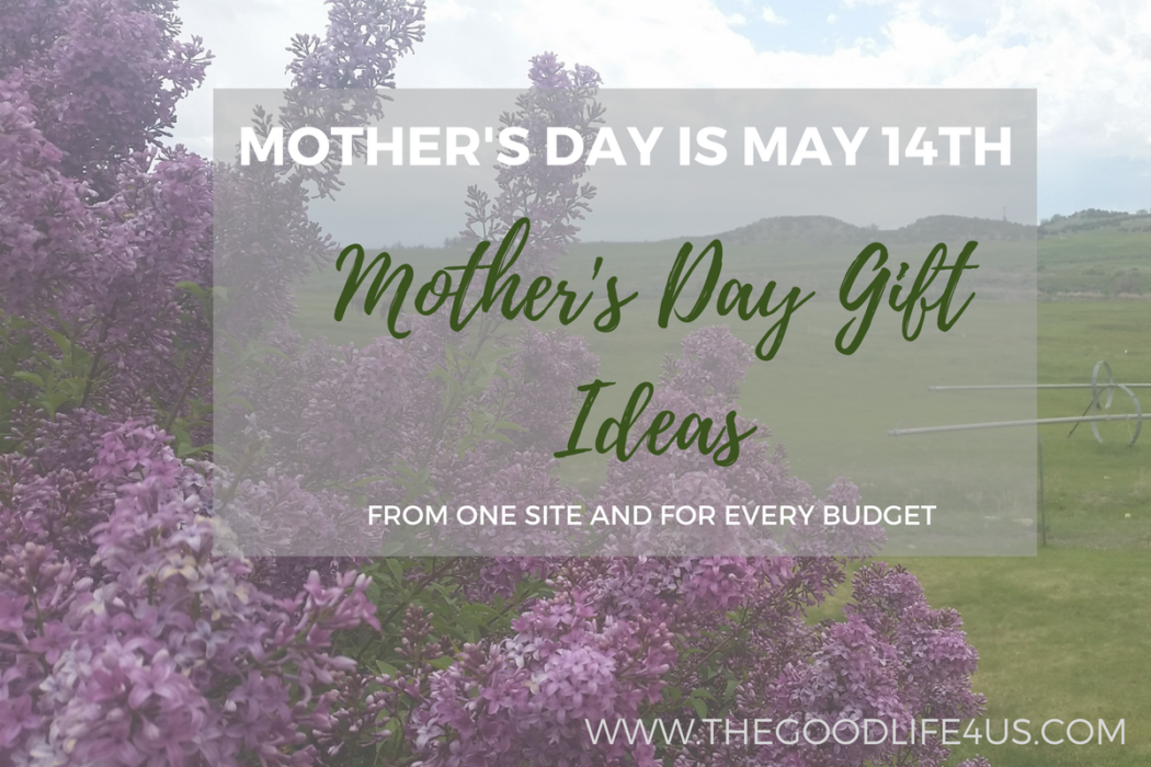 Mother's Day Gift Ideas from one site and for every budget