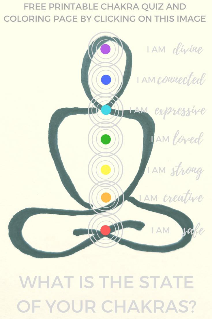 Chakra Shake-Up Clinic Free Printable Coloring Page