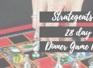 Strategeats™ 28 Day Dinner Game Plan